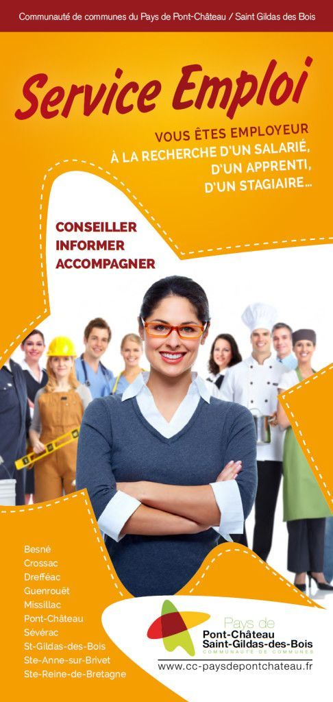 1er page flyer employeur