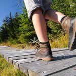 Photo pieds randonneurs