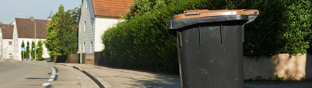 Bac à ordures ménagères