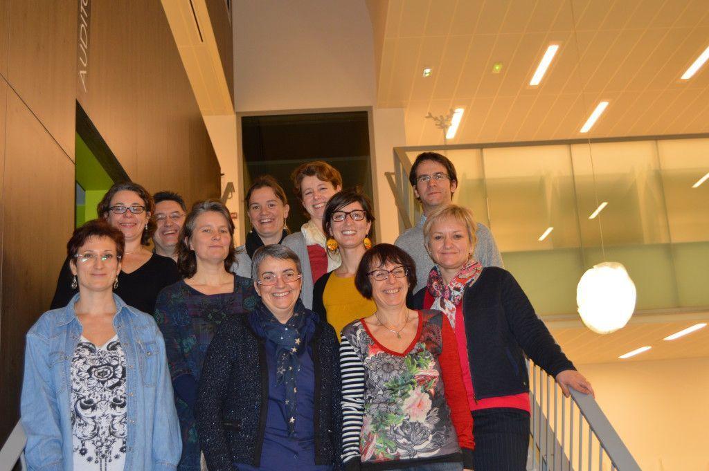 Photo bibliothécaires médiathèque