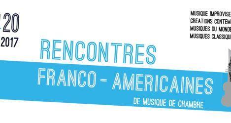 Rencontres Franco-américaines // Réservations