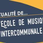 L'actu de l'école de musique