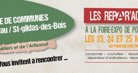 Venez rencontrer… // Les Répar'Acteurs à la Foire de Pont-Château