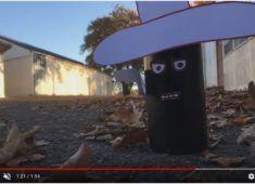 Vidéo stop motion visuel