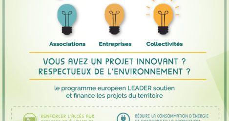 Financez votre projet éco-responsable avec LEADER !