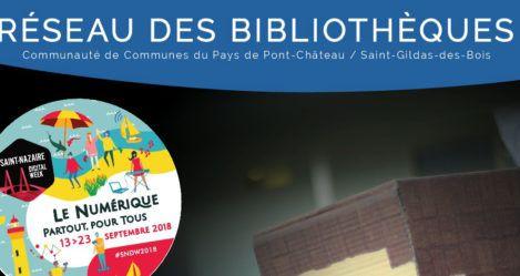 Le territoire participe à la Saint-Nazaire Digital Week !